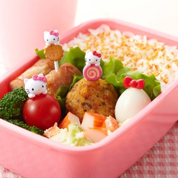 Official Sanrio Hello Kitty Bento Food Pick 8 Pcs For Food