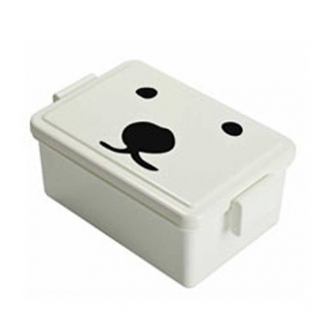 Gel-Cool Bento Lunch Box with Built-In Gel Cool Lid System 400ml - Polar Bear