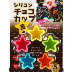 Silicon Chocolate Mold Mini Cup 5P Star