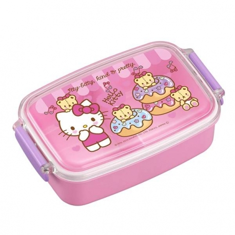 Microwavable 500ml Hello Kitty Bento Lunch Box