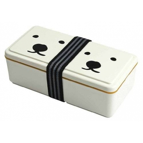 Gel-Cool Bento Lunch Box with Built-In Gel Cool Lid System 500ml - Polar Bear