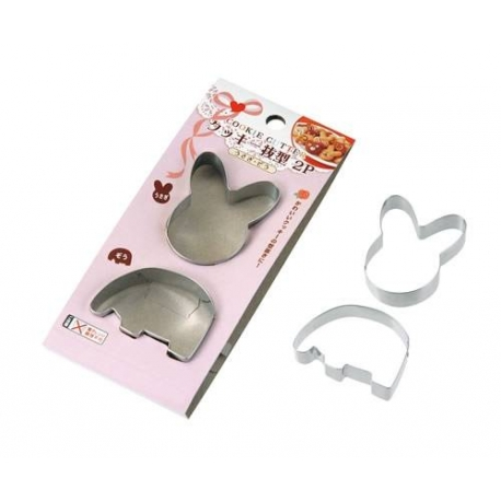 Bento Decoration Ham Cheese Cookie Cutter Elephant Rabbit