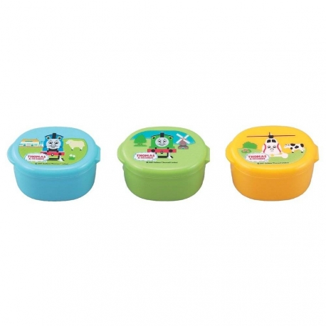 Japanese Bento Mayo Cup Sauce Container Thomas The Train And Friends set of 3