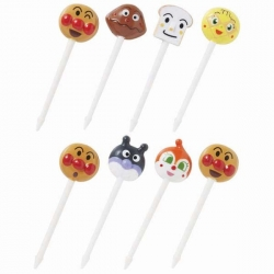 Official Anpanman Bento Food Pick 8 pcs