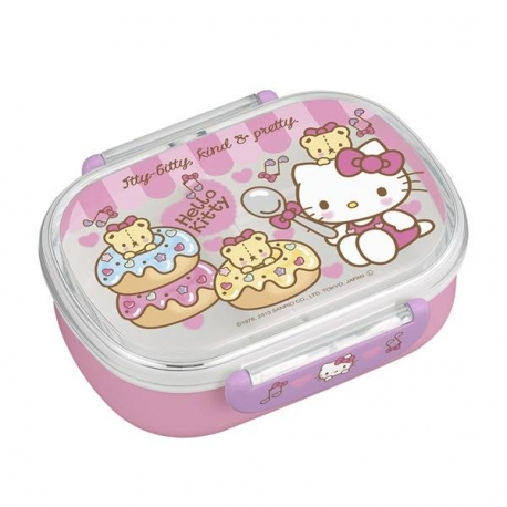Microwavable 360ml Hello Kitty Bento Lunch Box