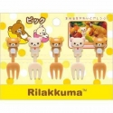 San-X Rilakkuma Bento Fun Lunch Accessories Food Fork 5 pcs