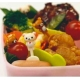 San-X Rilakkuma Bento Fun Lunch Accessories Food Fork 5 pcs
