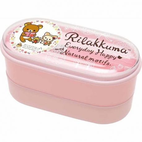 2-Tier Hello Kitty Bento Lunch Box