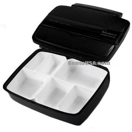 Lunch Box Modern/Traditional Compartmental Bento Box 870ml