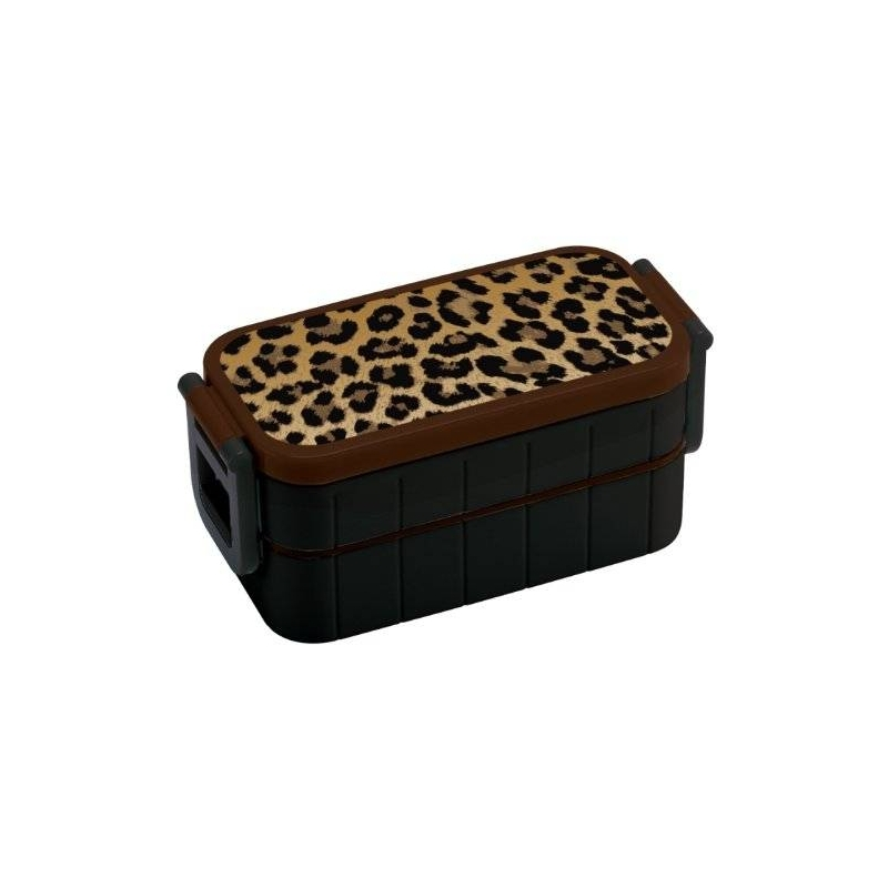 bento lunch box designer leopard 600ml for bento box all. Black Bedroom Furniture Sets. Home Design Ideas