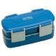 Bento Lunch Box Set 2 Tier Blue 850ML