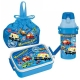 Vehicle Air Tight Bento Lunch Box set with Bottle