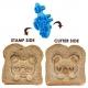 CuteZCute Bento Sandwich Cutter Cookie Stamp - Cuddle Palz