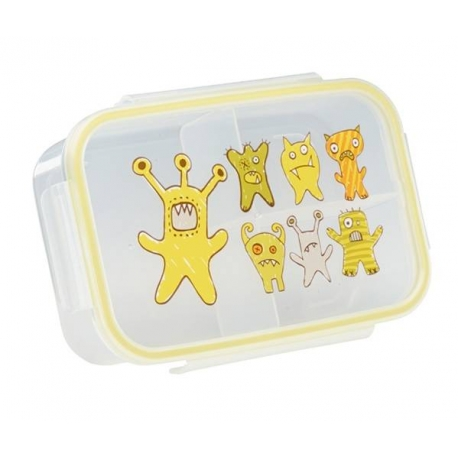 Good Lunch Box 3 Compartment Divided Lunch Container Deep Sea