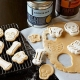 Bento Pastry Cookie Cutter and Stamp Halloween Skeleton