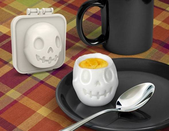 Hard Boiled Egg Mold Egg A Matic Shaper Skull For Egg Mold