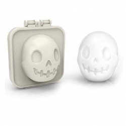 Hard Boiled Egg Mold Egg-A-Matic Shaper Skull