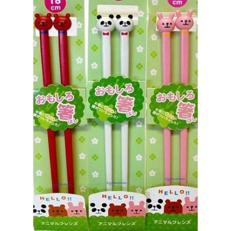 Japanese Cute 3D Chopsticks Panda Bear Rabbit