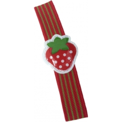 Japanese Bento Box Elastic Belt Lunch Box Bento Strap Strawberry