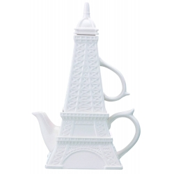Ceramic Eiffel Tower Tea For One