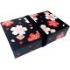 Bento Lunch Box 2 Black Chary Design