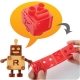 CuteZcute Robo Bread Transforming Sandwich Cutter and Stamp