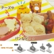 Japanese Bento Accessories Sandwich Cutter Rilakkuma Kiiroitori