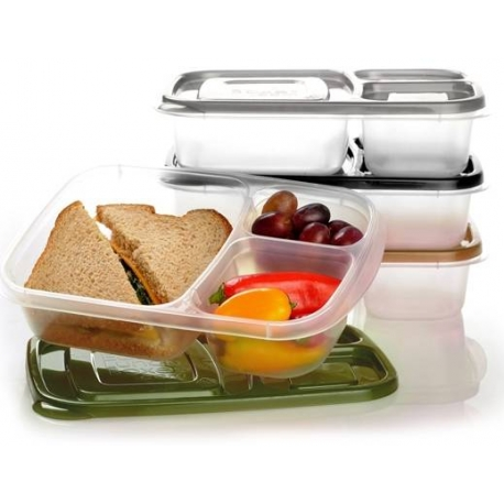 Easylunchboxes bento lunch box pack of 4 Urban