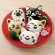 Japanese 3D Cat Bento Rice Mold and Seaweed Nori Cutter Set