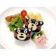 Japanese 3D Kumamon Bento Rice Mold and Seaweed Nori Cutter Set