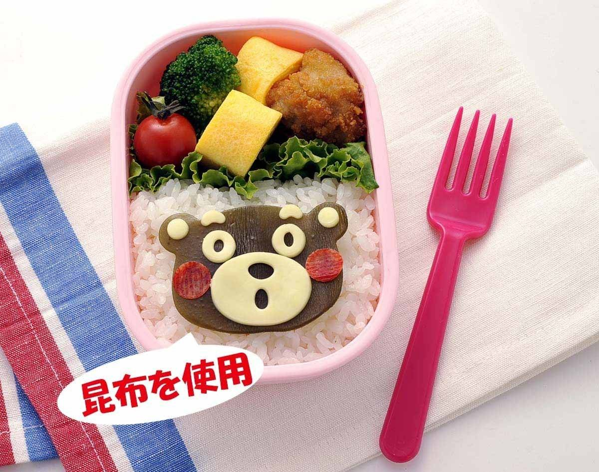 japanese 3d kumamon bento rice mold and seaweed nori cutter set f. Black Bedroom Furniture Sets. Home Design Ideas