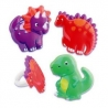 Food Decorating Ring Cute Dinosaur Set