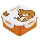 4 Lock 500ml Rilakkuma lunch box