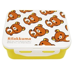 4 Lock 650ml Rilakkuma lunch box