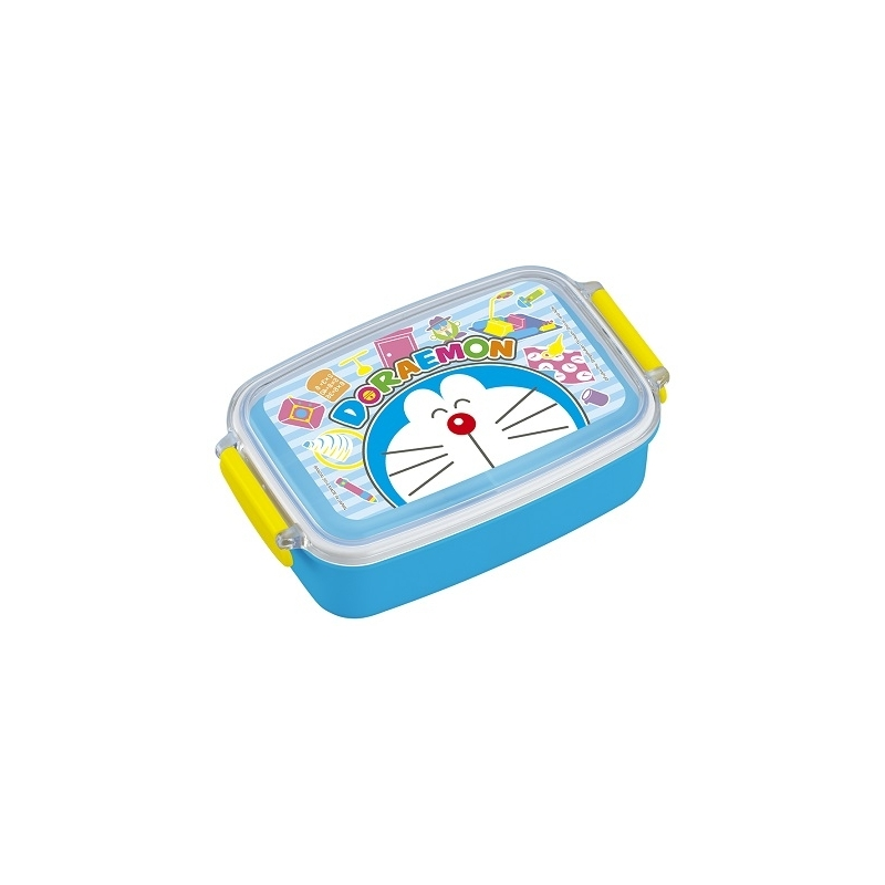 microwavable 500ml bento lunch box doraemon robot for bento box all. Black Bedroom Furniture Sets. Home Design Ideas