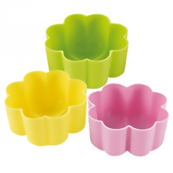 Bento High Quality Silicone Colorful Food Cups - Clover Large