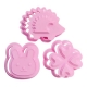 Japanese Bento Cookie Cutter Stamp Rabbit Clover Hedgehog