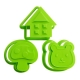 Japanese Bento Cookie Cutter Stamp House Bear Mushroom