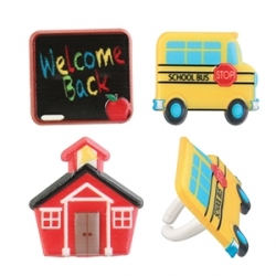 Food Decorating Party Ring Welcome Back to School