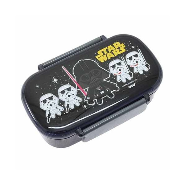 star wars 2 removable section bento lunch box for bento. Black Bedroom Furniture Sets. Home Design Ideas