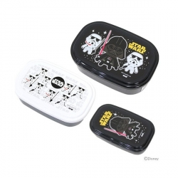 Microwavable Nested Container 3 Star Wars Bento Lunch Box
