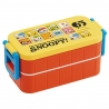 Snoopy 2-Compartment Bento Lunch Box 600ml with Chopsticks