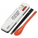 Snoopy Portable Bento Cutlery Set Spoon Chopsticks with Case