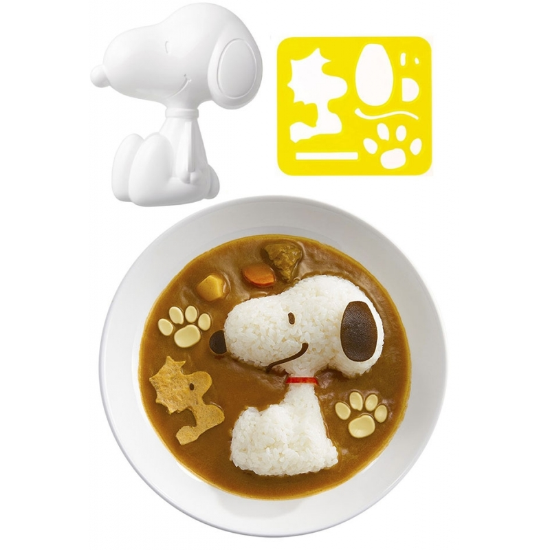 bento rice mold and cutter set for curry snoopy for egg mold r. Black Bedroom Furniture Sets. Home Design Ideas