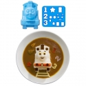 Bento Rice Mold and Cutter Set for Curry - Thomas the Train