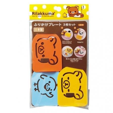 Rilakkuma Bento Furikake Spice Seasoning Stencil mold