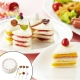 Cake shaped Sandwich Cutter and Sweet Food Picks Set