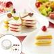 Cake shaped Sandwich Cutter and Sweet Food Picks Set