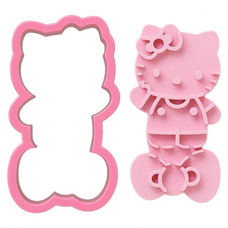 Hello Kitty Bento Bread Toast Mold