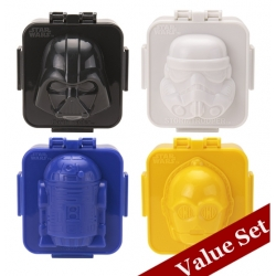 Hard Boiled Egg Shaper Star Wars Egg Mold Value Set
